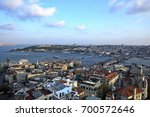istanbul old city skyline from... | Shutterstock . vector #700572646