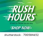sale poster or sale banner... | Shutterstock .eps vector #700584652