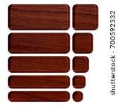 rich brown wood grain patterned ... | Shutterstock . vector #700592332