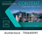 presentation layout design... | Shutterstock .eps vector #700640095