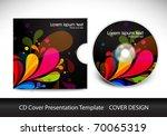 cd cover presentation design... | Shutterstock .eps vector #70065319