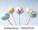 homemade assorted cake pops... | Shutterstock . vector #700655326
