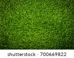 green grass soccer field... | Shutterstock . vector #700669822