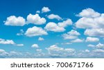clouds with blue sky | Shutterstock . vector #700671766