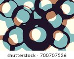 abstract grunge vector... | Shutterstock .eps vector #700707526