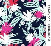 modern fashion creative... | Shutterstock .eps vector #700719586
