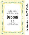 frame and border of ribbon with ...   Shutterstock .eps vector #700733026