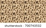 hyena pattern texture repeating ... | Shutterstock .eps vector #700743532