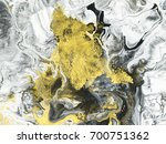 abstract hand painted black and ... | Shutterstock . vector #700751362
