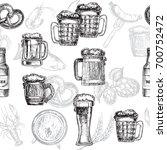 hand drawn sketch illustration... | Shutterstock .eps vector #700752472