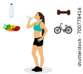 thin. proper nutrition. sports