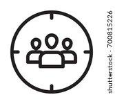 target users  | Shutterstock .eps vector #700815226