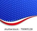 stars and stripes background... | Shutterstock .eps vector #70085128