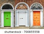 Doors In Dublin  Green  White...