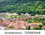 old town of heidelberg  ... | Shutterstock . vector #700885468