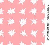 hand drawn seamless pattern.... | Shutterstock .eps vector #700933072