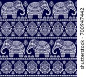 vintage graphic vector indian... | Shutterstock .eps vector #700947442