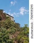fort bard  valle d'aosta  italy ... | Shutterstock . vector #700959295