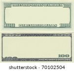 Clear 100 Dollar Banknote...
