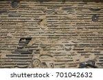 Stock photo the shinto trinity in old wall tenryu ji temple kyoto japan 701042632