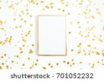 photo frame mock up with space... | Shutterstock . vector #701052232