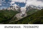 panoramic view of tetnuldi... | Shutterstock . vector #701066092