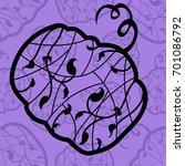 seamless pattern background... | Shutterstock .eps vector #701086792
