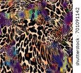 Animal Print  Leopard Texture...