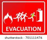 Emergency Evacuation Sign....