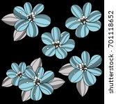 flower illustration | Shutterstock .eps vector #701118652