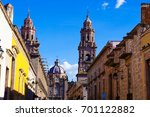 morelia   historic spanish city ... | Shutterstock . vector #701122882