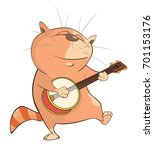vector illustration of a cute...   Shutterstock .eps vector #701153176