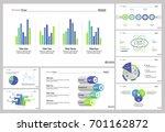 eight management slide... | Shutterstock .eps vector #701162872