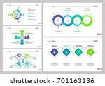 five management slide templates ... | Shutterstock .eps vector #701163136