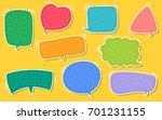 Vector Speech Bubble Text Box