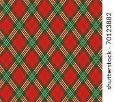 red plaid | Shutterstock .eps vector #70123882