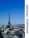 eiffel tower of paris   Shutterstock . vector #70126291