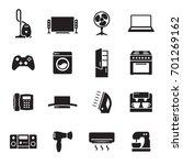 house appliance  home appliance ... | Shutterstock .eps vector #701269162