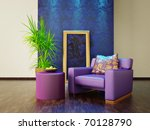 modern interior room with nice... | Shutterstock . vector #70128790