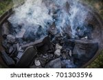 smoky charcoal | Shutterstock . vector #701303596