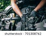 garage  | Shutterstock . vector #701308762