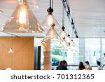 Hanging Ceiling Lights In A...