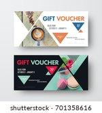 vector design gift black and... | Shutterstock .eps vector #701358616