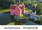 aerial view of bizarre water... | Shutterstock . vector #701364538
