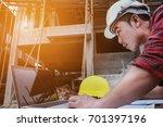 asian engineering. good... | Shutterstock . vector #701397196