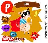 super big set. cute vector zoo...   Shutterstock .eps vector #701401498