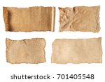 various blank ancient papers... | Shutterstock . vector #701405548
