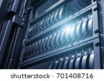 array disk storage in data... | Shutterstock . vector #701408716