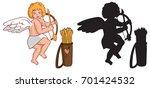 illustration on white... | Shutterstock .eps vector #701424532