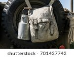american military bag and a... | Shutterstock . vector #701427742